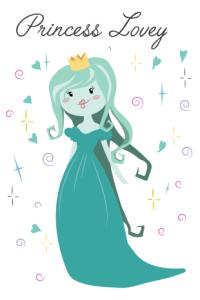 Princess Lovey in all her splendor