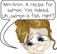 salmon is fish