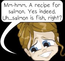 salmon is fish