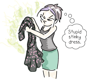 stinky dress