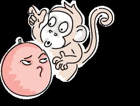 Grapefruit Monkey